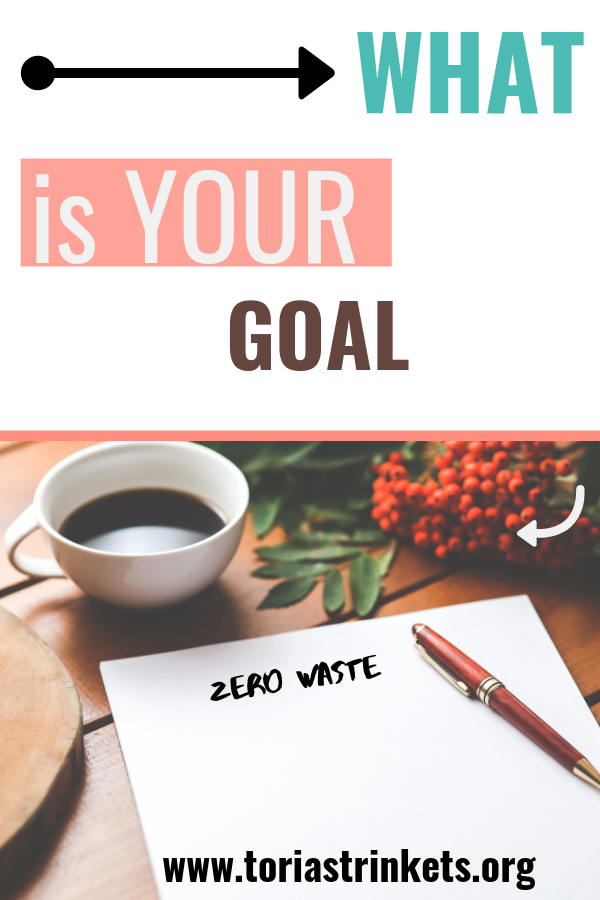 What-is-your-GOAL 5 Tips to Start Your Zero Waste Lifestyle