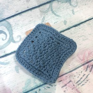 Dolphin Blue Cotton Makeup Remover Pad